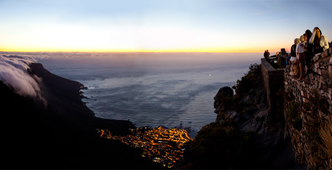 Insider Tips for Going Up Table Mountain - sundowners