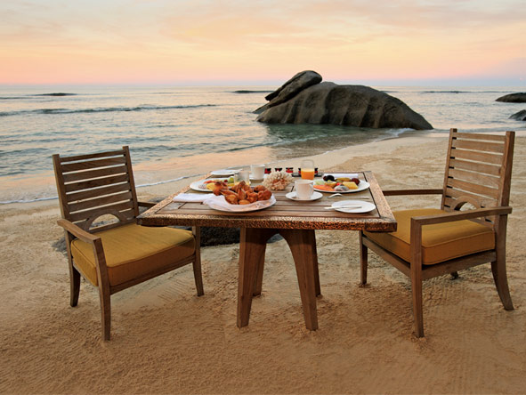 Splendid Seychelles - Private dining