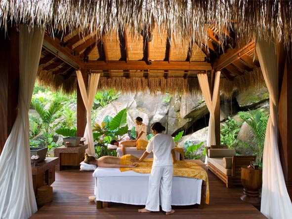 Splendid Seychelles - Balinese-style spa