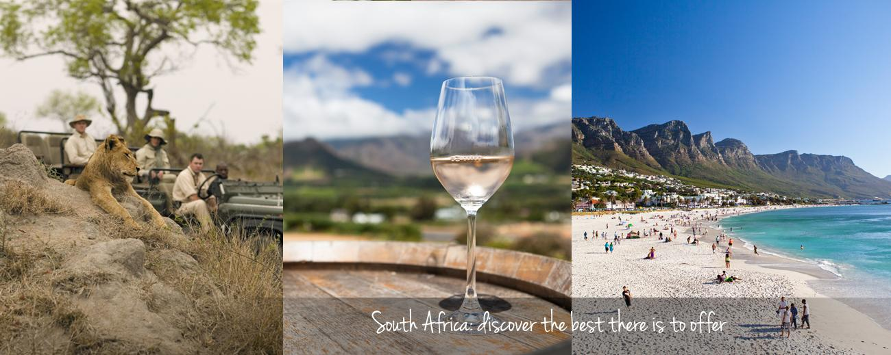 How to Combine South Africa's Favourite Destinations - Banner!!