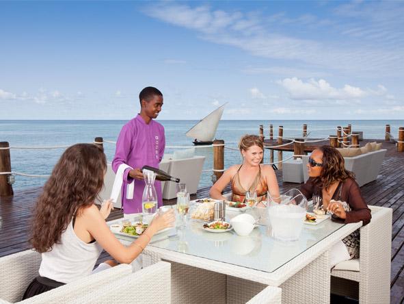 Essque Zalu Zanzibar - Alfresco dining