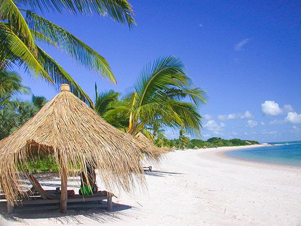 Benguerra Island - White sandy beaches