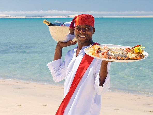 Benguerra Island - Fresh seafood