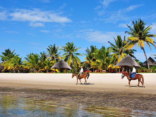 Benguerra Island - Horseback riding