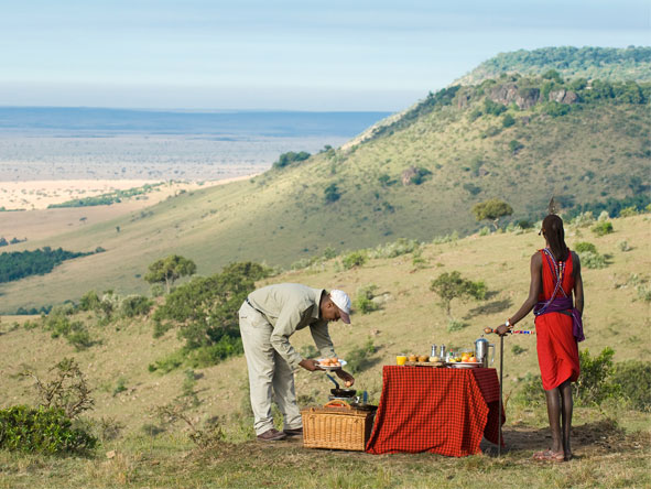 Bateleur Camp - Bush breakfasts