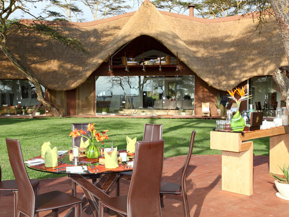Solio Lodge - Private dining