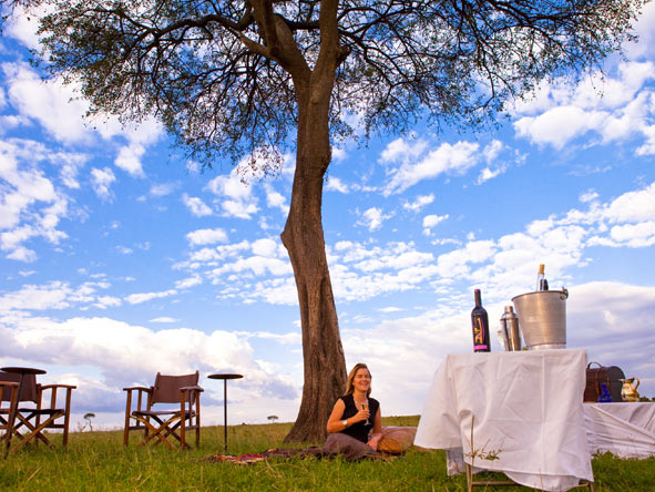 Solio Lodge - Afternoon game drives