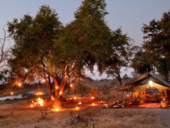 Selinda Explorers Camp & Kubu Island Combo