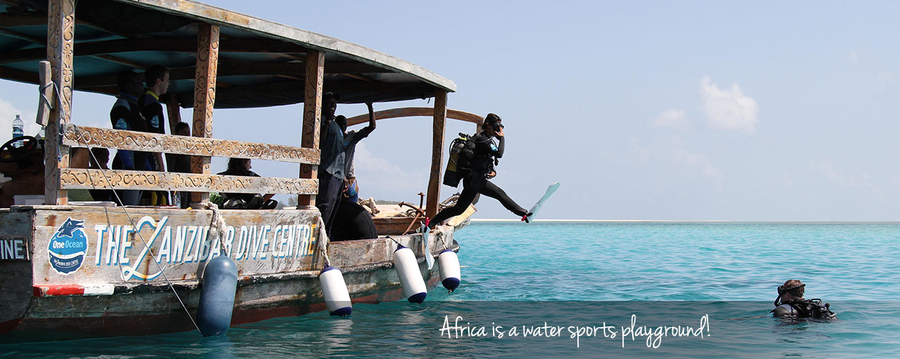 The Ultimate African Water Sports Bucket list Banner