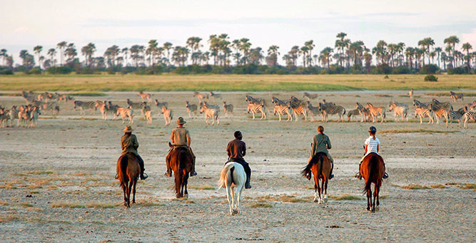 Top 10 Riding Adventures In Africa - Camp Kalahari