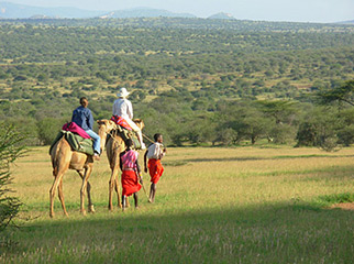 Top 10 Riding Adventures In Africa - Samburu Camel 1