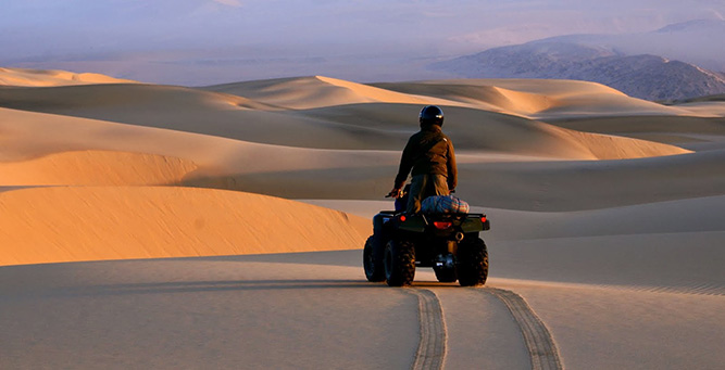 Top 10 Riding Adventures In Africa - Namibia Quad