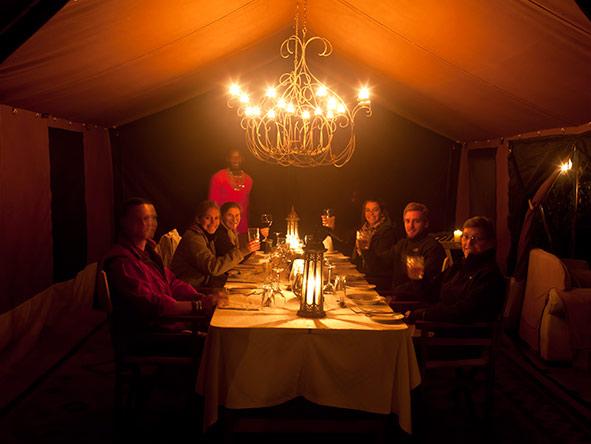 Serian Nkorombo Camp - Delicious cuisine