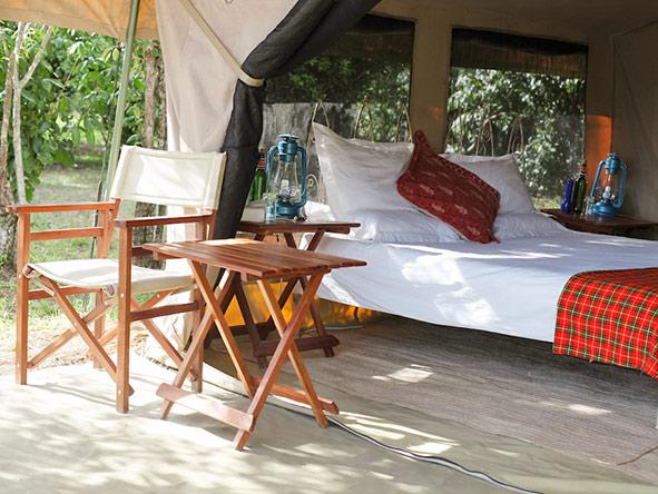 Serian Nkorombo Camp - Spacious tents