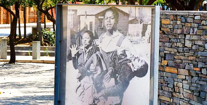 Mandela in Johannesberg: Hector