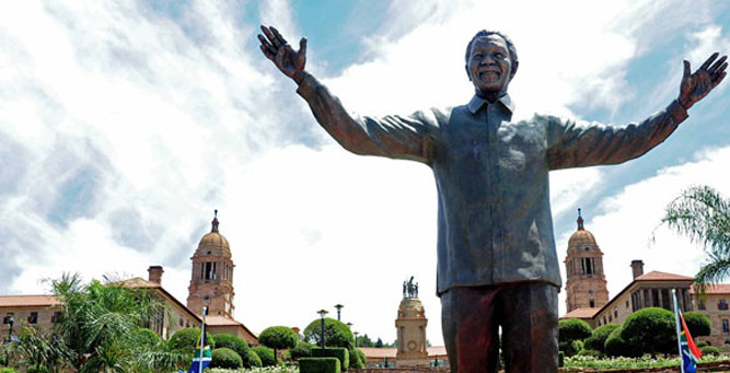 Mandela in Johannesberg: Union buildings