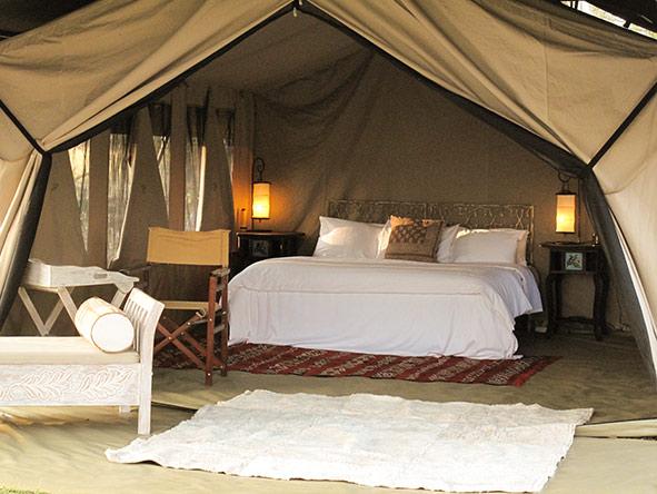 Serian Migration Camp - tent