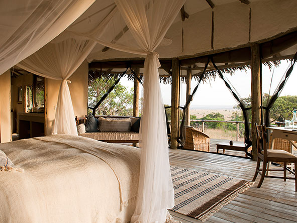Lamai Serengeti Main Camp - tents