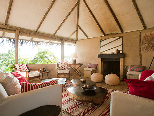 Lamai Serengeti Main Camp - lounge