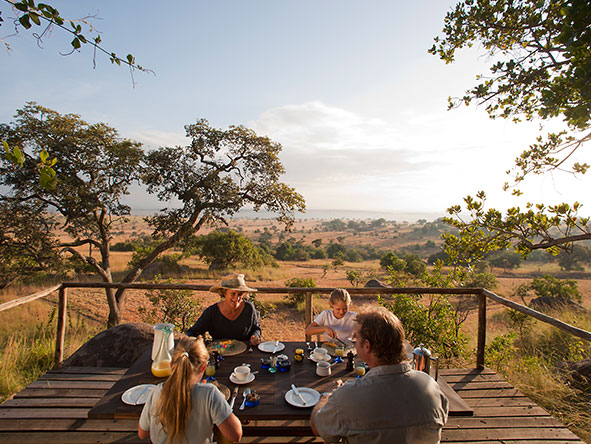 Lamai Serengeti Main Camp - brunch