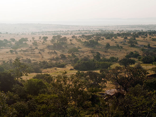 Lamai Serengeti Main Camp - location