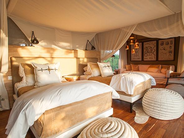 Mwiba Lodge - interiors