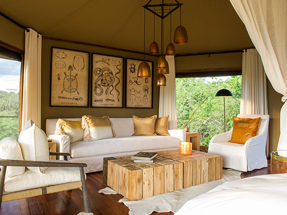 Mwiba Lodge - decor