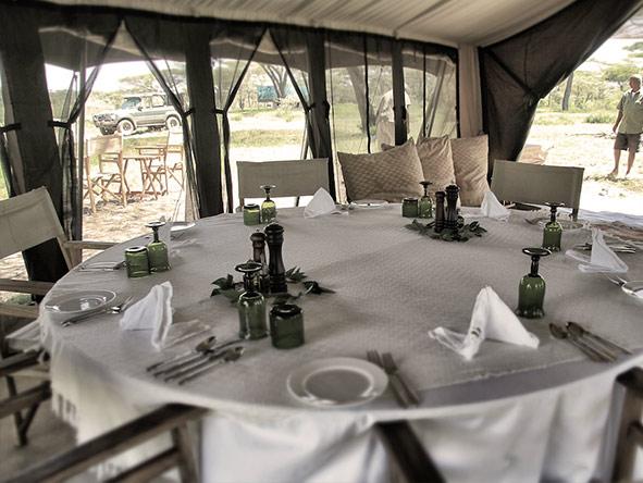 Kusini Serian Serengeti Mobile - cuisine