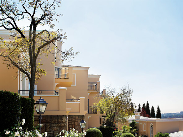 The Westcliff Hotel - architecture