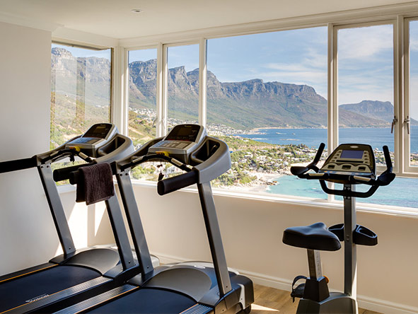 Cape View Clifton - gym