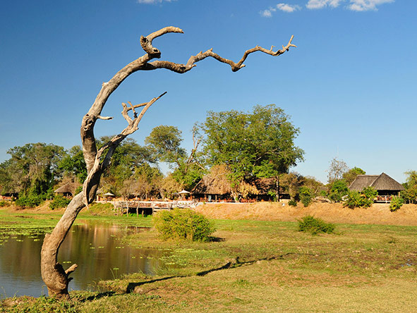 Kafunta River Lodge - views
