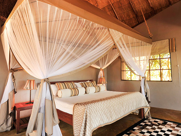 Kafunta River Lodge - bedroom2
