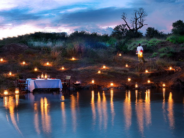 Dining at Madikwe