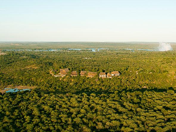 Victoria Falls Safari Lodge - view
