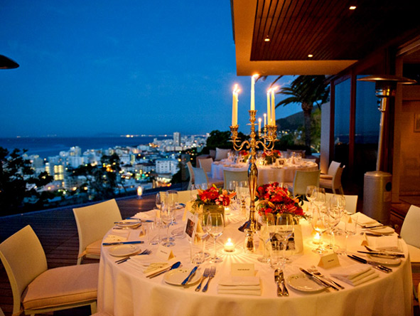 International chefs, a vintage wine list & candlelight conspire to produce an unforgettable dining experience.