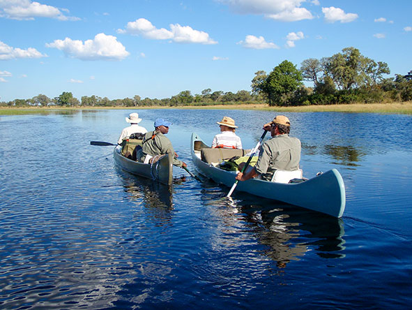The collection's Selinda Canoe safari is one of the most thrilling & unique experiences in Africa.