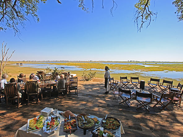 Botswana's Zarafa Camp was designed by Great Plains Conservation experts to be the 'perfect safari camp'.