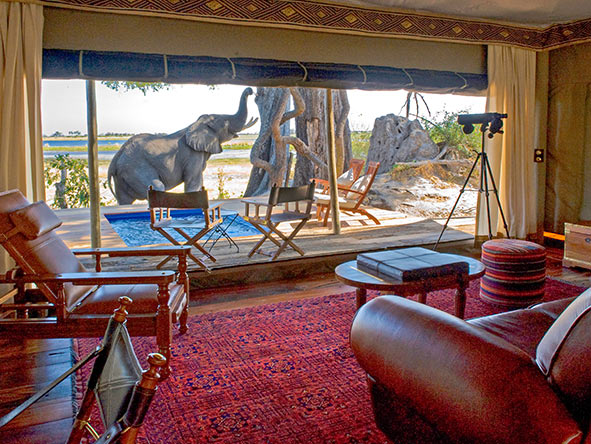 If you're looking for total immersion into the African wilderness, a Great Plains camp will deliver.
