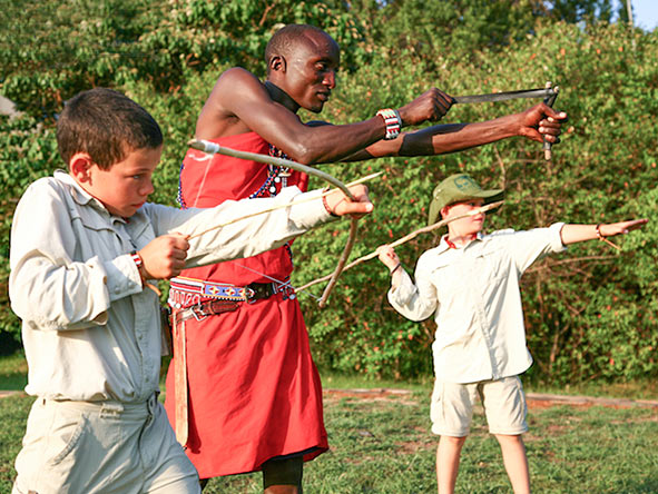 Children are welcome at Great Plains Conservation camps & enjoy tailored activities they'll never foget.