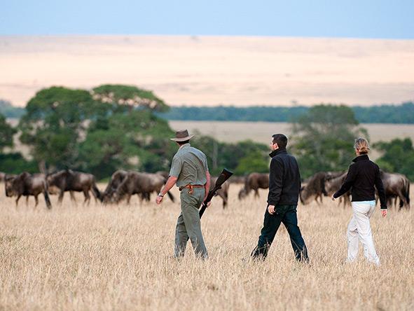 Activities at Kenya's ol Donyo Lodge include mountain biking, horseback safaris & fly-camping adventures.