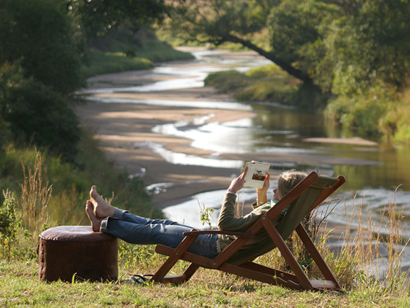 There's always time to kick back & relax at a Safari Collection property.