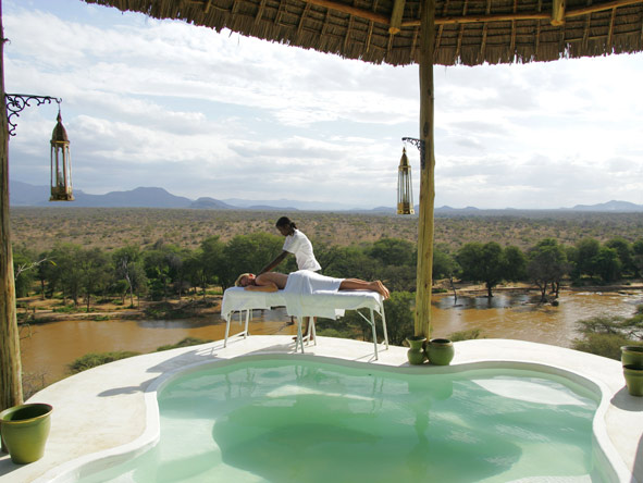 Massages & wellness treatments are part of the Safari Collection experience - best enjoyed with a view!