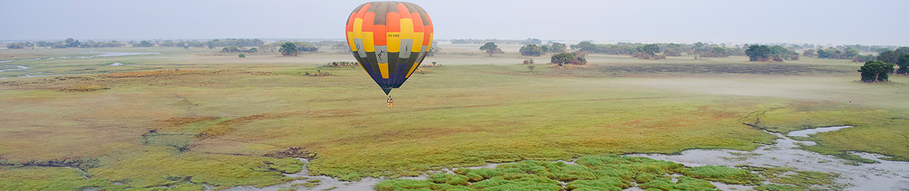 Hot Air Balloon - Africa safari