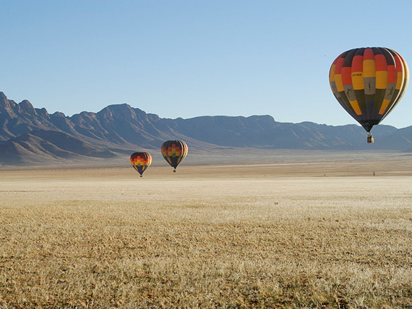 Namib Desert balloon safaris are the best way to view one of Africa's most dramatic landscapes.