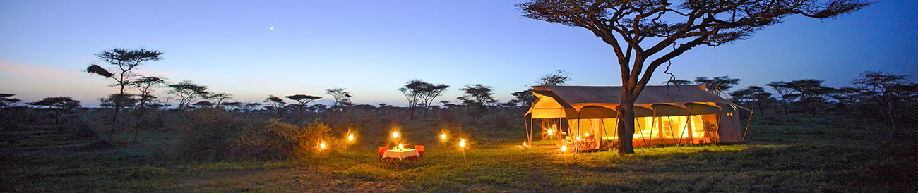 Africa luxury camping safari