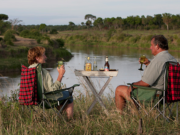 Specialising in small intimate camps, there's always a table for two at a Serian property.
