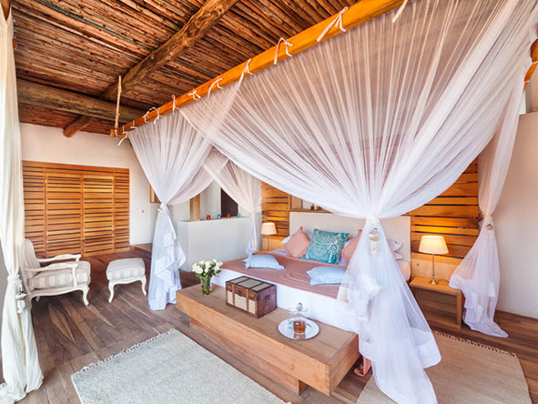 Set on a pristine private beach, Saruni Ocean makes the perfect add-on to a Saruni safari.