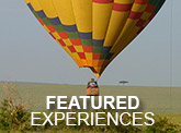 Featured Experiences - Home Page