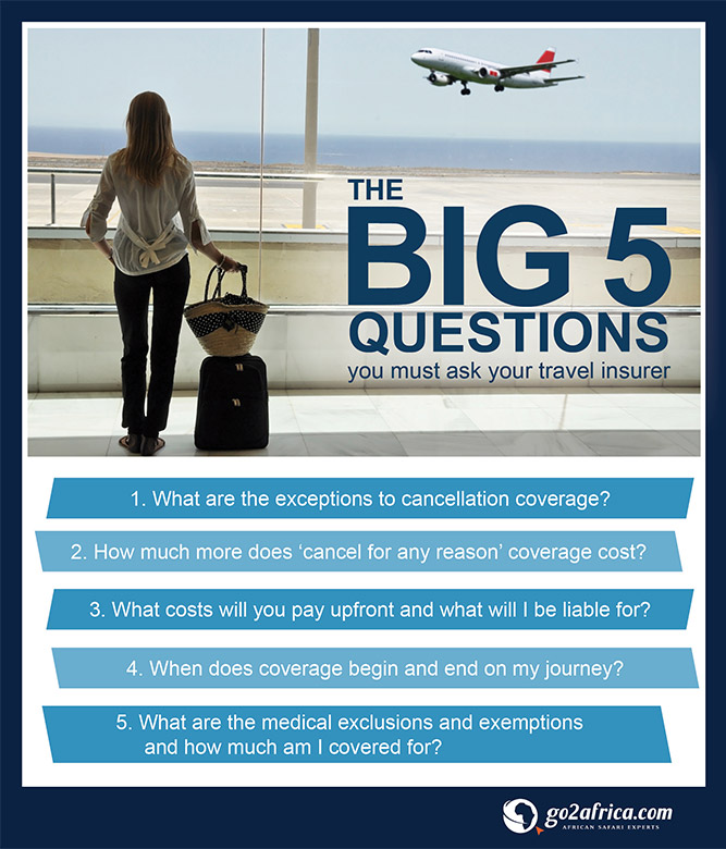 Big 5 Travel Questions