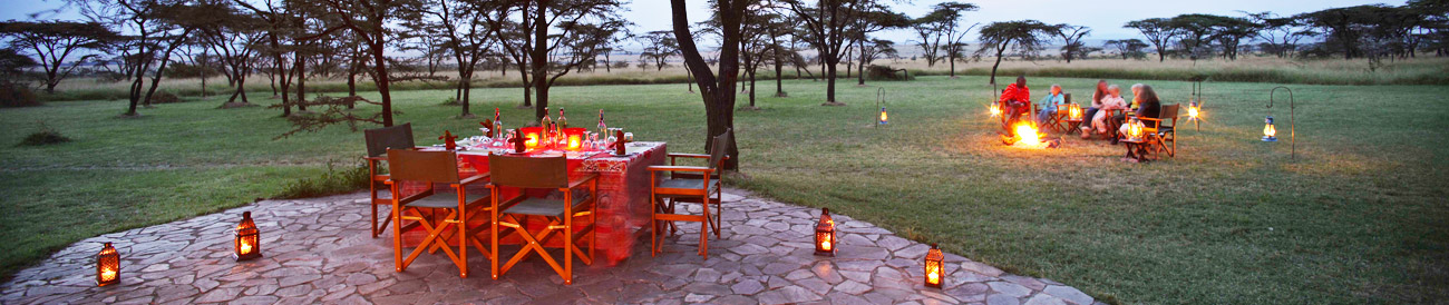 Kenya's Safari Bush Houses - Banner